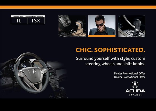 Acura Accessory Posters, POP