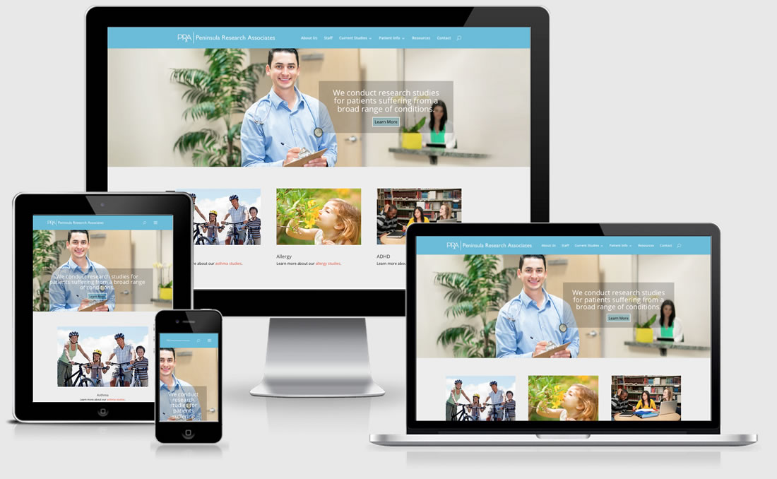 Peninsula Research Associates Cable, Logo, Marketing Plan, Print Advertisement, Radio, Research Design, Social Media, Website