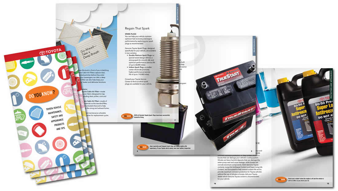 Toyota Parts & Service Maintenance Interactive Brochure