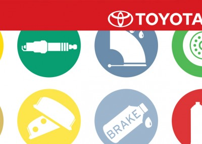 Toyota Parts & Service Maintenance Brochure