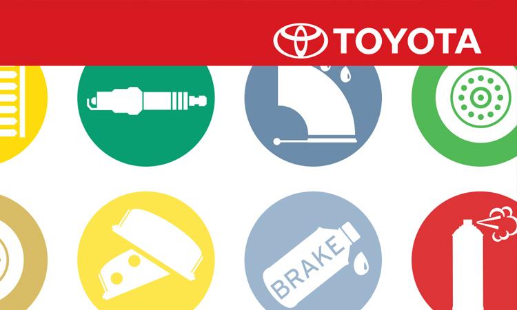 Toyota Parts & Service Maintenance Brochure